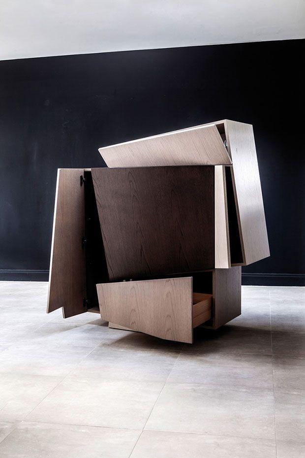 Booleanos. Mobiliario y cubismo. Joel Escalona