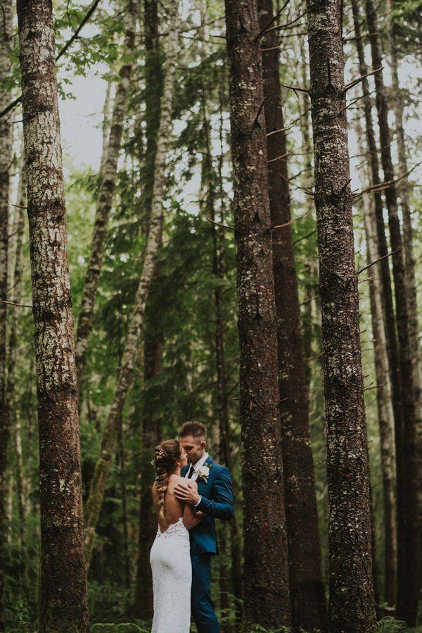 Forest wedding inspiration | Image by Hinterland Stills