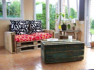 Facile da fare divano pallet