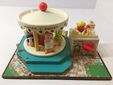 People Fisher Price Little Merry Go Round Vintage Playground School Musical