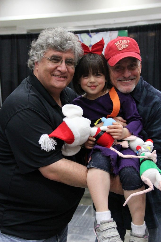 5 Questions with a 5-Year-Old chats with Rob Paulsen and Maurice LeMarche from Pinky & The Brain and Animaniacs!
