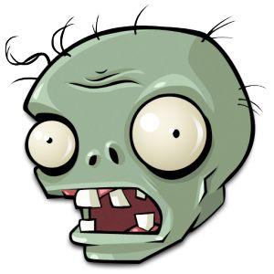 Cara zombi color plantas vs zombies plant zombie for Cuartos decorados de plants vs zombies