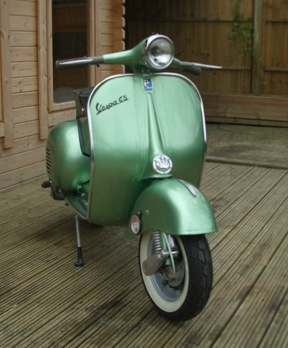 1960 Vespa GS150 #vespa #italiandesign my dear daddy's vespa...