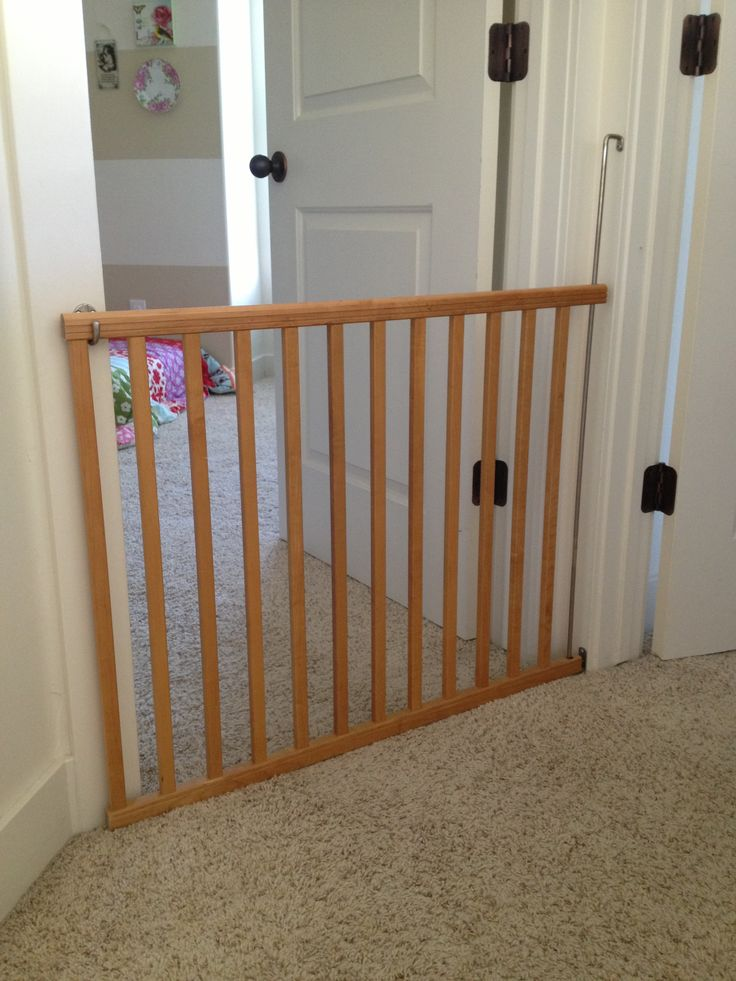 Took An Old Drop Side Crib And Made A Baby Gate In 2019