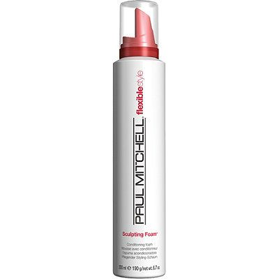 Paul MitchellFlexible Style Sculpting Foam: Sorry I'm on a paul mitchell beauty rant but I have been using this for my curls for years and decided it is a beauty staple. Achieves defined style w/o crunch/frizz. Use this in addition to a cream (or alone for those of us w/o curly hair) and spritz a little frizz ease and your good to go. Get so many compliments on my curls these days and I think I can credit it to this