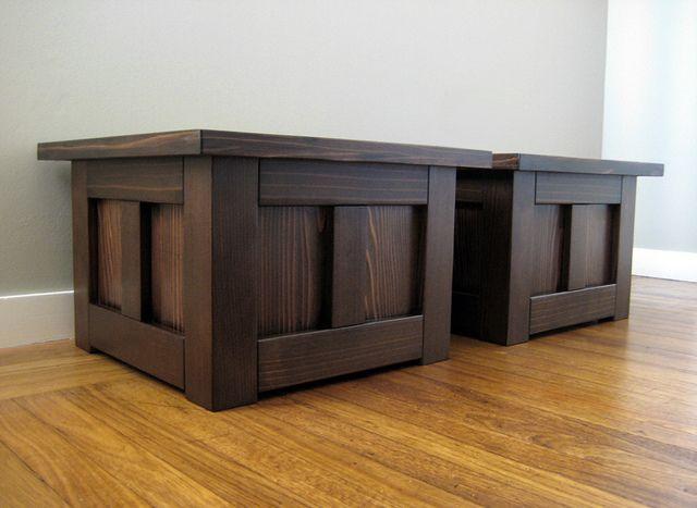 Craftsman Planters....for decks. Use leftover cedar from basement?