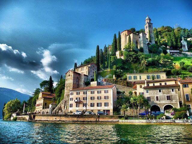 イタリアとの国境付近に位置するルガーノ♡ - スイス南部 :世界の美景色旅行♪(@kini_new)さん | Twitter