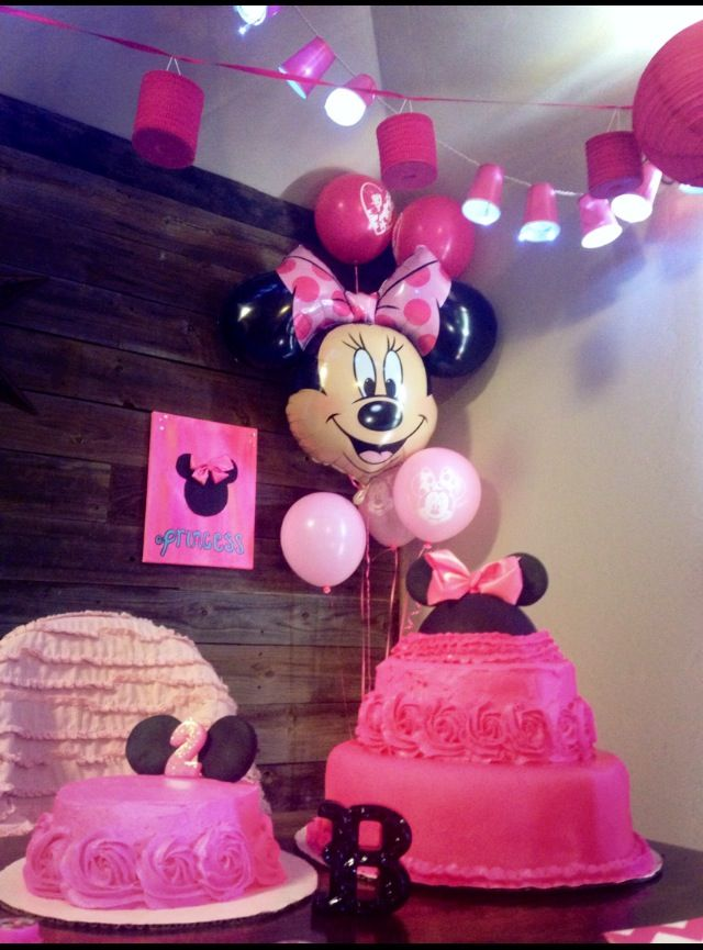 Minnie Mouse birthday party | Our Stuff | Pinterest ...