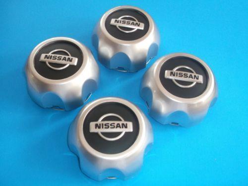 4-NEW-NISSAN-Frontier-Xterra-2000-2004-wheel-center-hub-caps-40315-7Z100