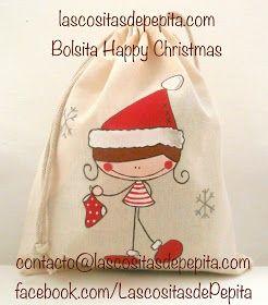 Las cositas de Pepita: Bolsitas Guarda Tesoros para el Árbol de Navidad