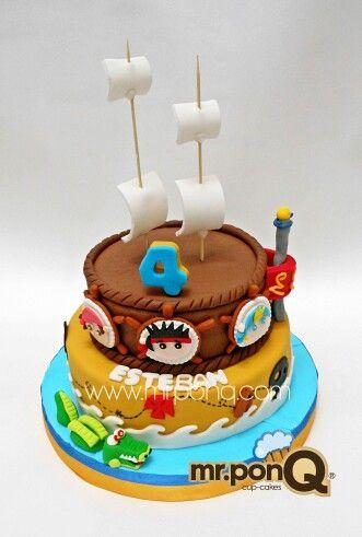Torta jack y los piratas del nunca jamas. Mr.ponQ