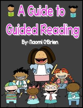 Everything you need to get started and maintain excellent guided reading groups!!!