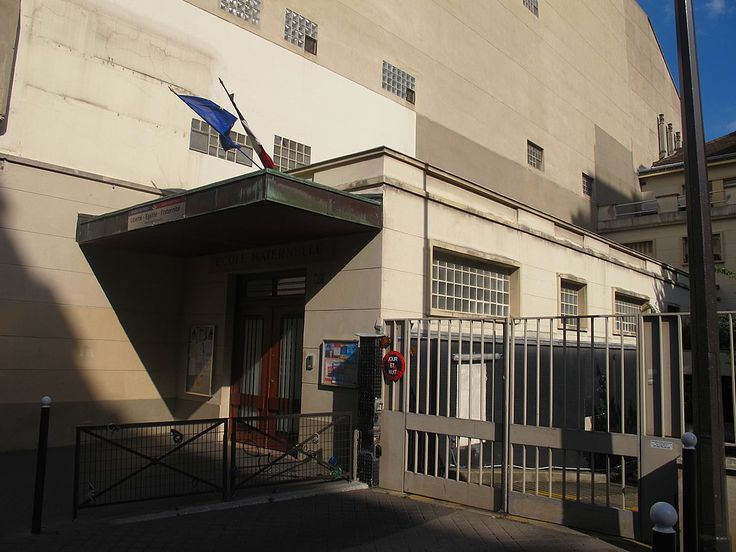 Paris 7e - École maternelle Saint-Dominique.
