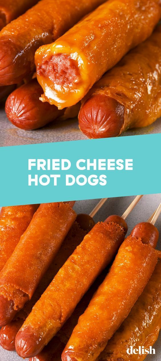 Fried Cheese Hot Dogs – food delecious recipes –