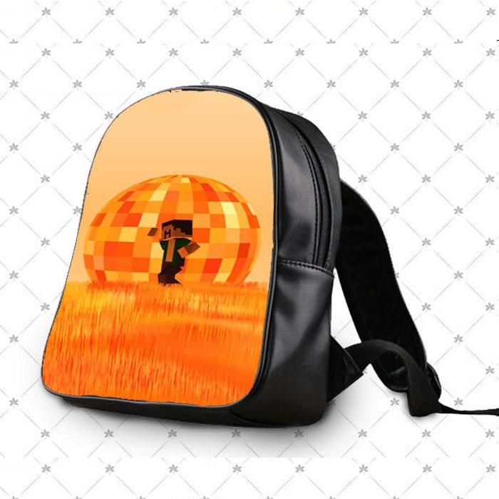 Minecraft Sunset School Bag Backpacks