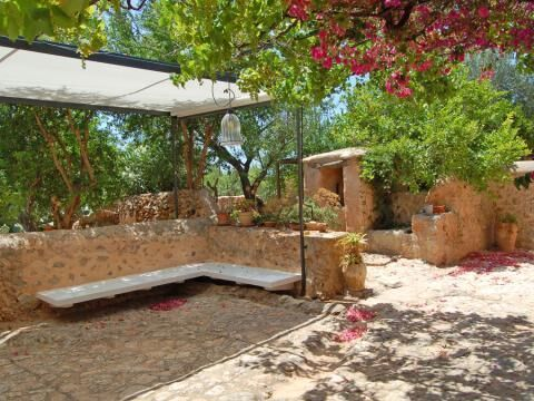 Mallorca finca Can Negra for rent-