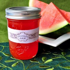 Canning Watermelon Jam Recipe » The Homestead Survival