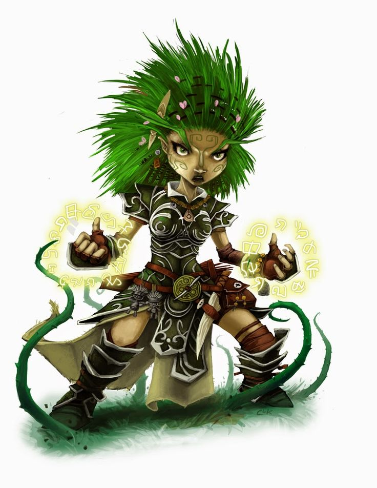 female gnome druid - Google Search