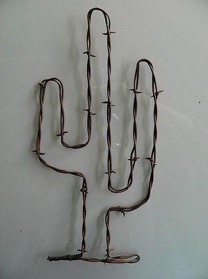 Resultado de imagen para cactus en alambre