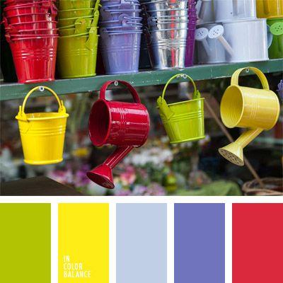 amarillo, amarillo limón, amarillo vivo, azul violeta, celeste, color guinda, color verde lima, colores para la decoración, colores vivos, elección del color, frambuesa, paletas de colores para decoración, paletas para un diseñador, verde.