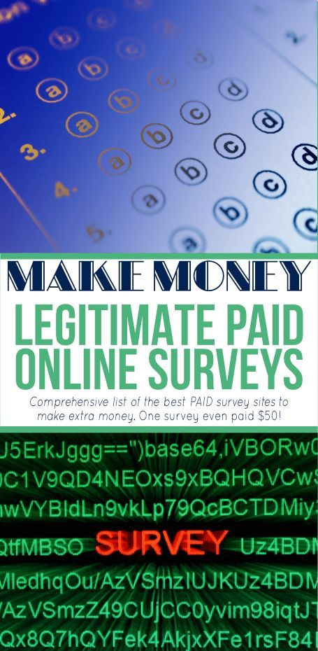 Take surveys for money! This list of the best paid…