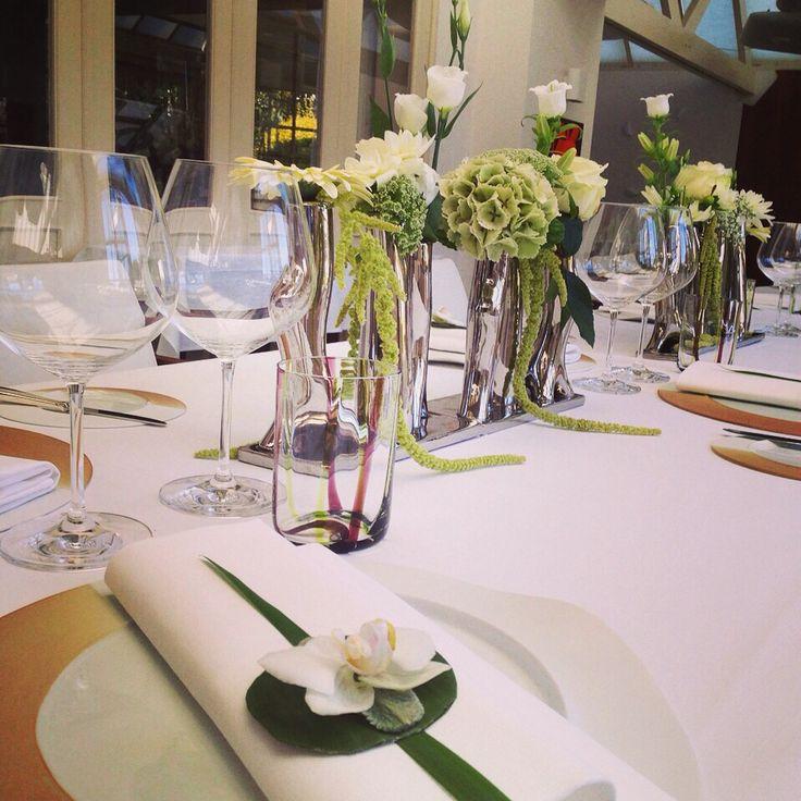 Dinning flowers Interscaldes