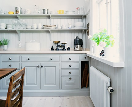 Best These Pins Were Inspiration For My New Kitchen Now - Light blue grey kitchen cabinets