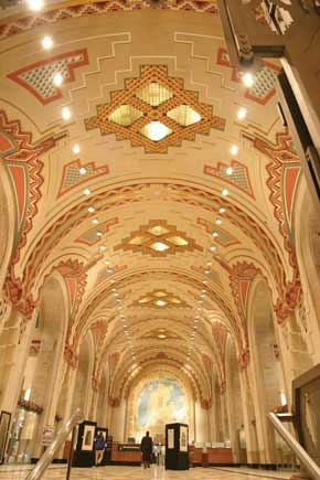 2005 Edison Award Winner and  2005 Award of Excellence Winner  The Guardian Building Renovation  Detroit, Michigan, USA