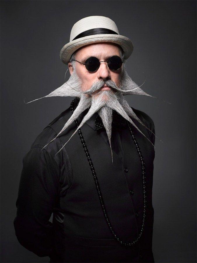 Crazy Beard Styles -