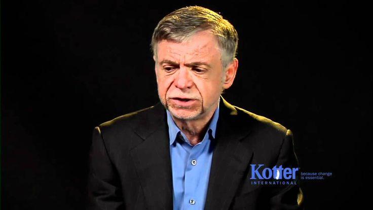 John Kotter Change Management vs. Change Leadership