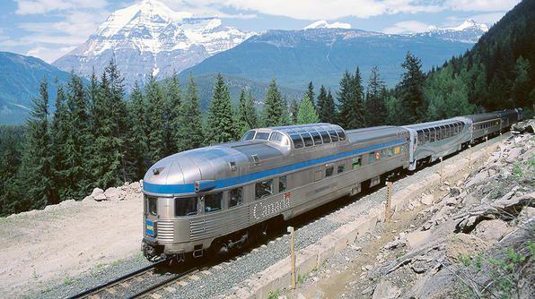 Amtrak & Via Rail HD 60fps: Riding Train 97 / 64 The Maple ...
