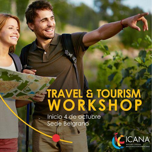 Aprendé, entendé y practicá inglés en situaciones de viaje. Travel & Tourism Workshop, inicio 4 de octubre en Sede Belgrano. Para más información comunicate al 0810-345-5006. #TravelingStyle