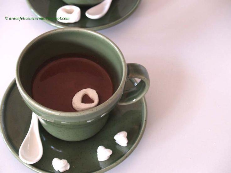 Arabafelice in cucina!: Cuori...in tazza (e preparato per la cioccolata calda)