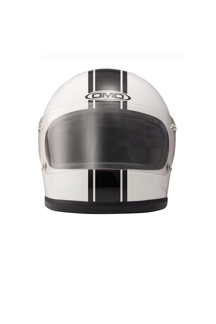 casque racing full   casque racer vintage dmd   helmet dmd racing full