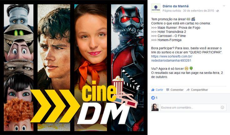 Post promocional na página do Grupo Diário da Manhã em Passo Fundo, Rio Grande do Sul - Brasil.  A postagem pode ser conferida através do link: https://www.facebook.com/redediariodamanha/photos/a.331046223643517.75593.331000323648107/892250397523094/?type=3&theater