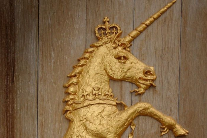 A Unicorn at the Palace of Holyrood