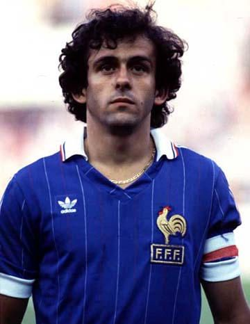 Michel Platini was a 3 time Ballon d'Or winner. Also held the record with Johan Cruyff until Messi broke that.