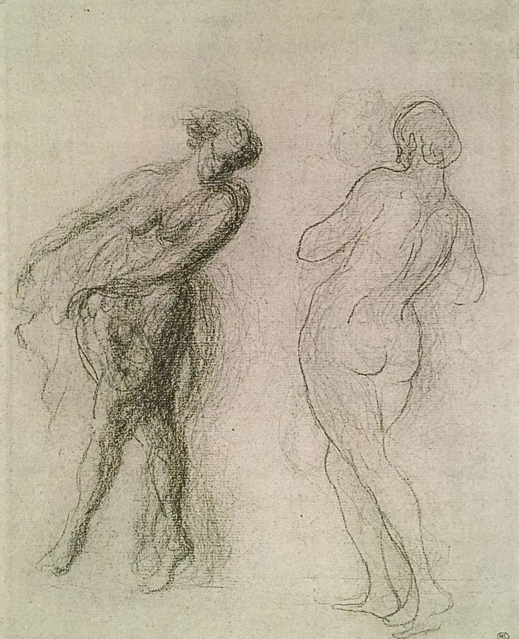 Daumier Gesture Drawings