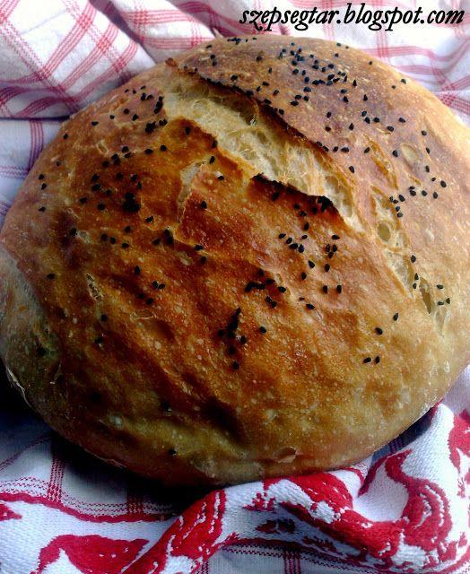 Szépségtár: Dagasztás nélküli kenyér