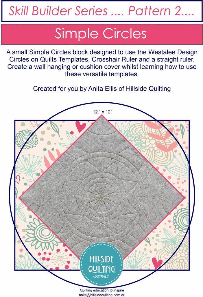 Simple Circles Block Pattern Skill Builder Pattern 2 Pattern