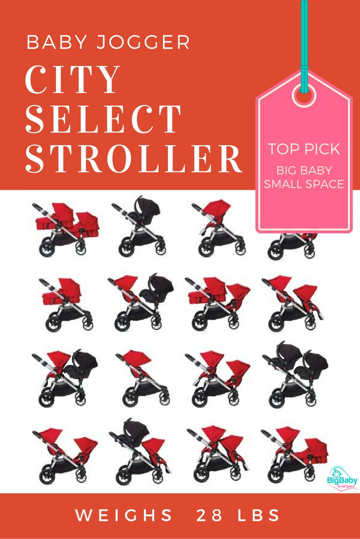 Baby Jogger's most versatile yet, the City Select stroller grows with your family and could be the only stroller you'll ever need.  The Baby Jogger City Select stroller boasts 16+ available configurations to fit your family's needs.  It easily becomes a luxury baby stroller with the bassinet kit accessory. Add any of the 16+ available accessories and it becomes an all-in-one stroller, able to meet your family's needs... even as its growing.  With lots of premium strollers on the market, the…