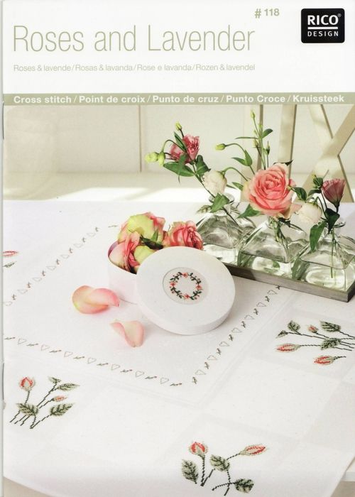 Rico design: Roses and Lavender № 118 - 2009