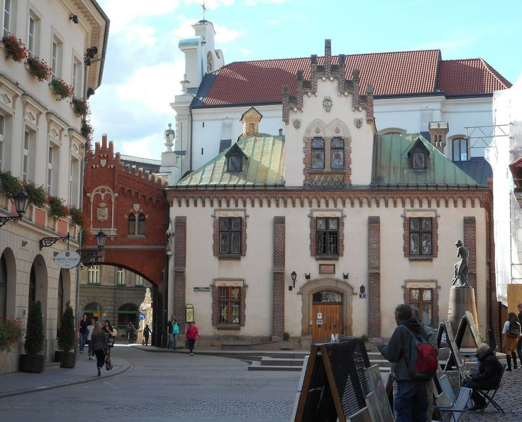 The old Town in Krakow