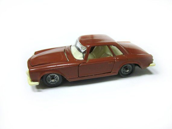 Collectible Soviet Toy Russian Toy Mercedes Benz 230 Sl 1 43 Metal
