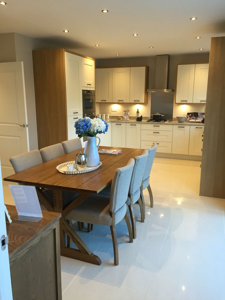 Amazing Redrow shaker kitchen