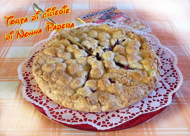 Torta+di+ciliegie+di+Nonna+Papera,+una+golosità+per+tornare+un+po'+bambini