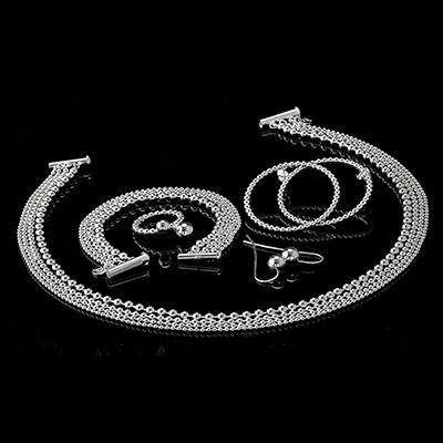 Paletti Jewelry Grace silver jewelry set @ wedding blog BLACK.bling.WHITE