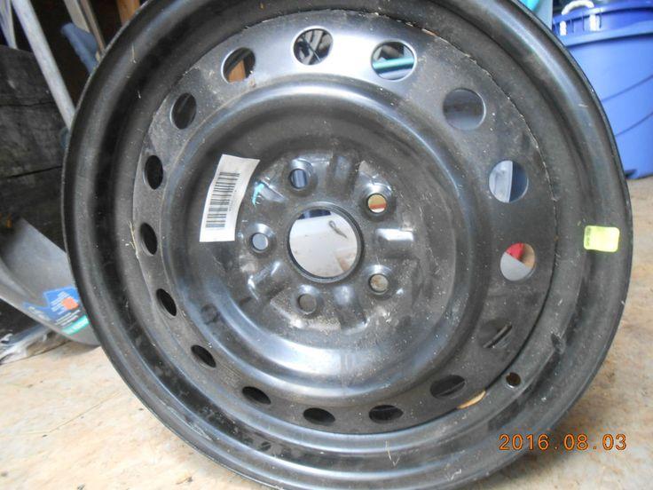 "TOYOTA Camry 2007-2011 Factory OEM 16"" Black Steel Wheel Rim 69494  #FactoryOriginalEquipment"