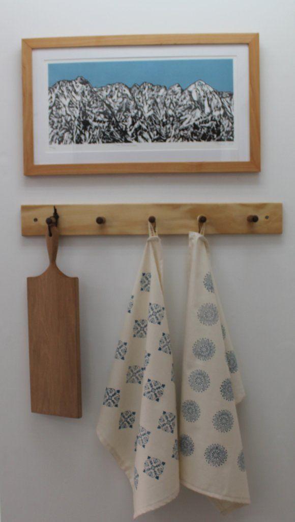 Tea towel – Cauliflower