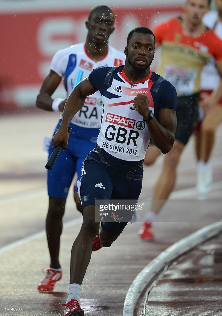 Nigel Levine - Athletics. 400m relay.